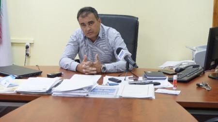 Старши комисар Петър Коцин, директор на Областната дирекция на МВР- Видин