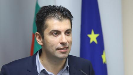 Caretaker Economy Minister Kiril Petkov