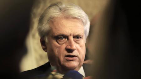 Boyko Rashkov, ministro del Interior interino de Bulgaria