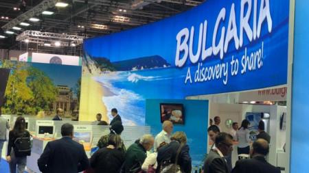 Българският щанд на Световното туристическо изложение World Travel Market в Лондон