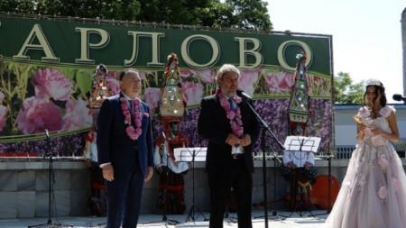 Празникът в Карлово през миналата година