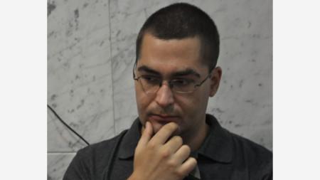 Журналистът от Китайската медийна група Тодор Радев