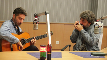 Антонио Санчес (хармоника) и Антонио Санчес (китара)