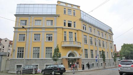 Сградата на Изпълнителната агенция по Лекарствата