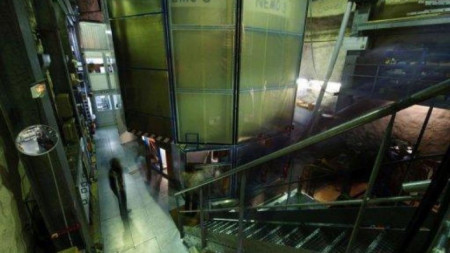 Подземната лаборатория край град Модан