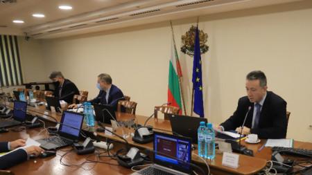 Янаки Стоилов на пленум на ВСС, 20 май 2021 г.