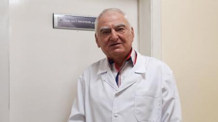 Проф. д-р Тошко Лисичков Ръководител на Експертен център за редки хематологични заболявания към СБАЛХЗ