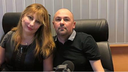 """Мария Мира Христова и Даниел Инков в студиото на програма """"Христо Ботев"""""""