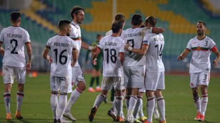 България завърши 1:1 с Ирландия в София в началото на турнира.