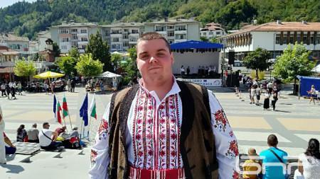 Емил Хаджиев, възпитаник на музикалното училище
