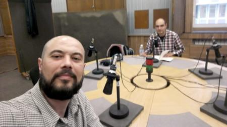 Пейчо Кънев (вляво) и Радослав Чичев