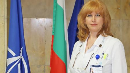 Полк. Любина Веселинова от Военно-медицинската академия в София