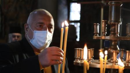 Премиерът Борисов посети днес Рилския манастир.