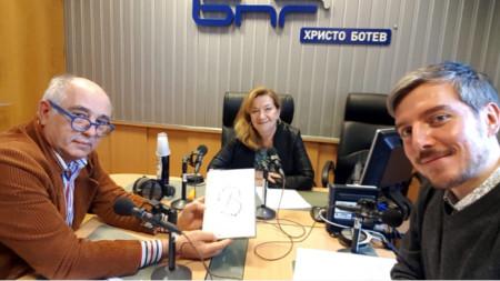 Кирил Калев, Валентина Михайлова и Даниел Ненчев (отляво надясно)