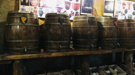 Музея на виното в Мелник