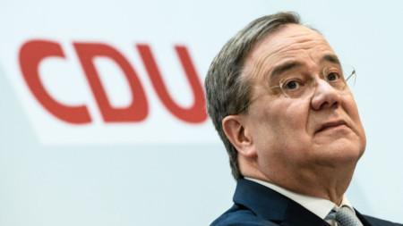 Армин Лашет, лидер на ХДС