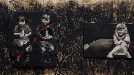 """1941-1945"" (фрагмент), худ. Татьяна О′Махони"