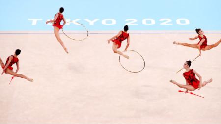 Българските гимнастички в Токио, 8 август 2021 г.