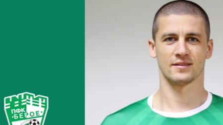 Георги Ангелов подписа нов договор с Берое