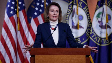 Нанси Пелоси, говорител на Конгреса на САЩ