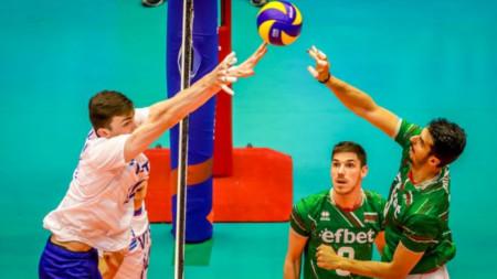 Волейболистите загубиха и от Русия