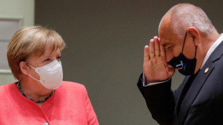 Angela Merkel und Bojko Borissow