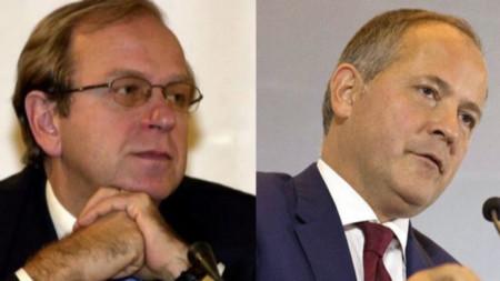 Ерки Лийканен и Беноа Коьр, кандидати за шеф на ЕЦБ