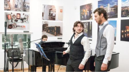 """Тринадесети фестивал на изкуствата """"Борис Христов. Концерт на Божидар Божкилов (на преден план)"""