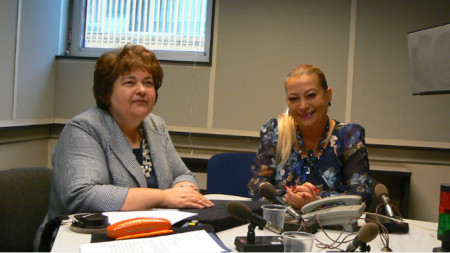 Ралица Негенцова (вляво) и Анелия Торошанова