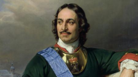 Портрет на Петър Велики от Пол Деларош