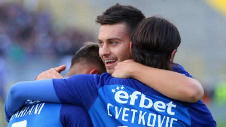 Станислав Костов има 16 гола за