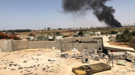 Военни действия в Триполи.