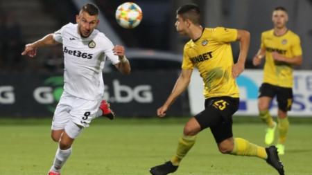 Славия победи Ботев с 2:1 и ще играе в Лига Европа