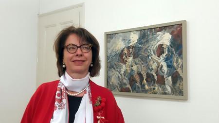 Н. пр. Мюриел Берсе Коен, посланик на Швейцария в България