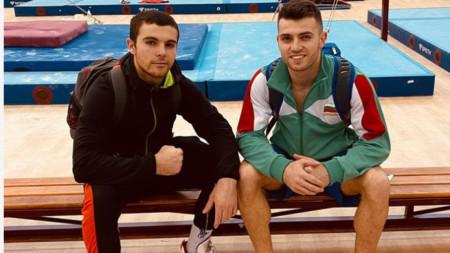 Дейвид Хъдълстоун и Йордан Александров
