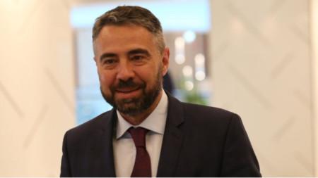 Caretaker Energy Minister Andrey Zhivkov