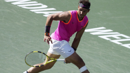 Федерер срещу Надал в полуфинал на Индиън Уелс