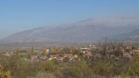 Изглед към село Смочево