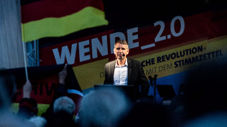 "Лидерът на ""Алтернатива за Германия"" в Тюрингия Бьорн Хьоке"