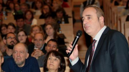 На заседание на Общото събрание на СУ избират нов ректор. Кандидатурата е една - на досегашния ректор проф. Анастас Герджиков.