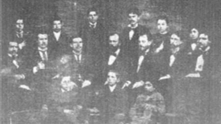 Хорът на Янко Мустаков през 1879