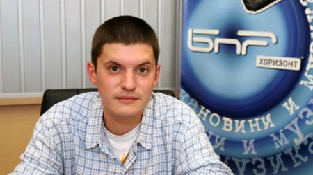 Йордан Радичков - внук