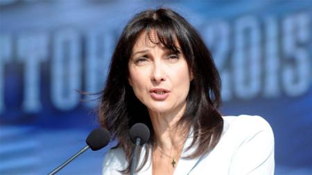 Гръцкият министър на туризма Елена Кондура