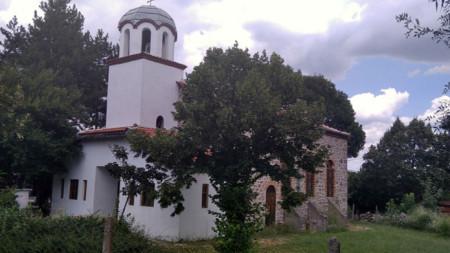 Църквата в село Бориславци