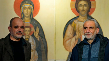 Атанас Атанасов (вляво) и Станимир Желев