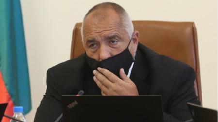 Премиерът Бойко Борисов на заседанието на Министерския съвет -  24 юни 2020 г.