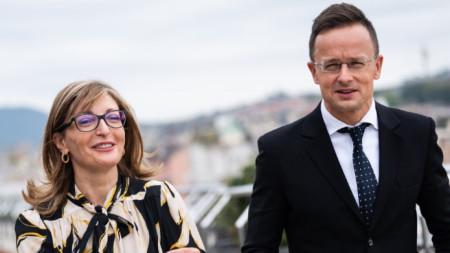 Министрите Захариева и Сиярто в Будапеща
