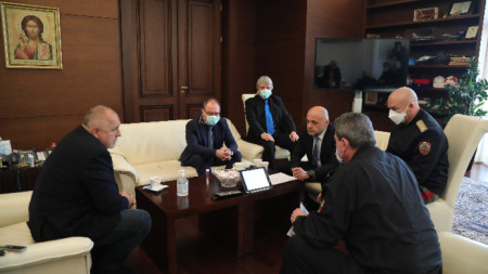 Премиерът Бойко Борисов се срещна с учени от Българската академия на науките в Министерски съвет.