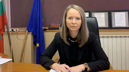 Дани Каназирева - областен управител на Пловдив