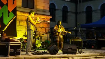Триото на Суле, Роко и Санди на Варненския джаз фестивал миналата година.
